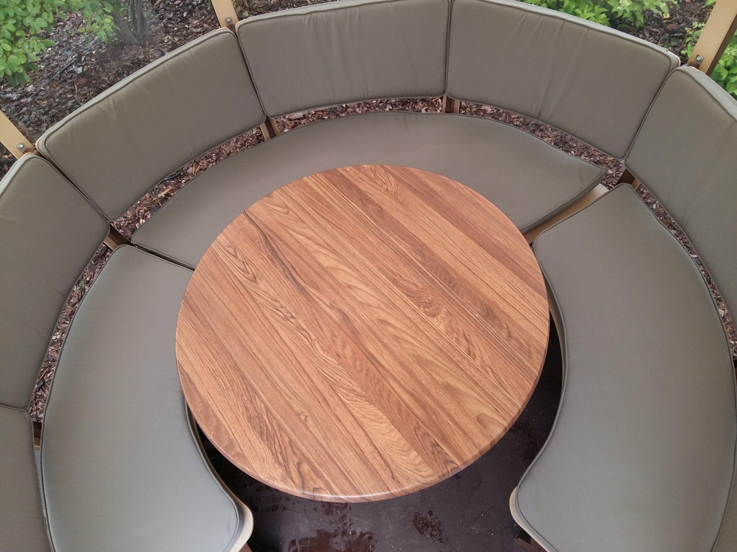 Siedzenia tapicerowane w Cocoshell