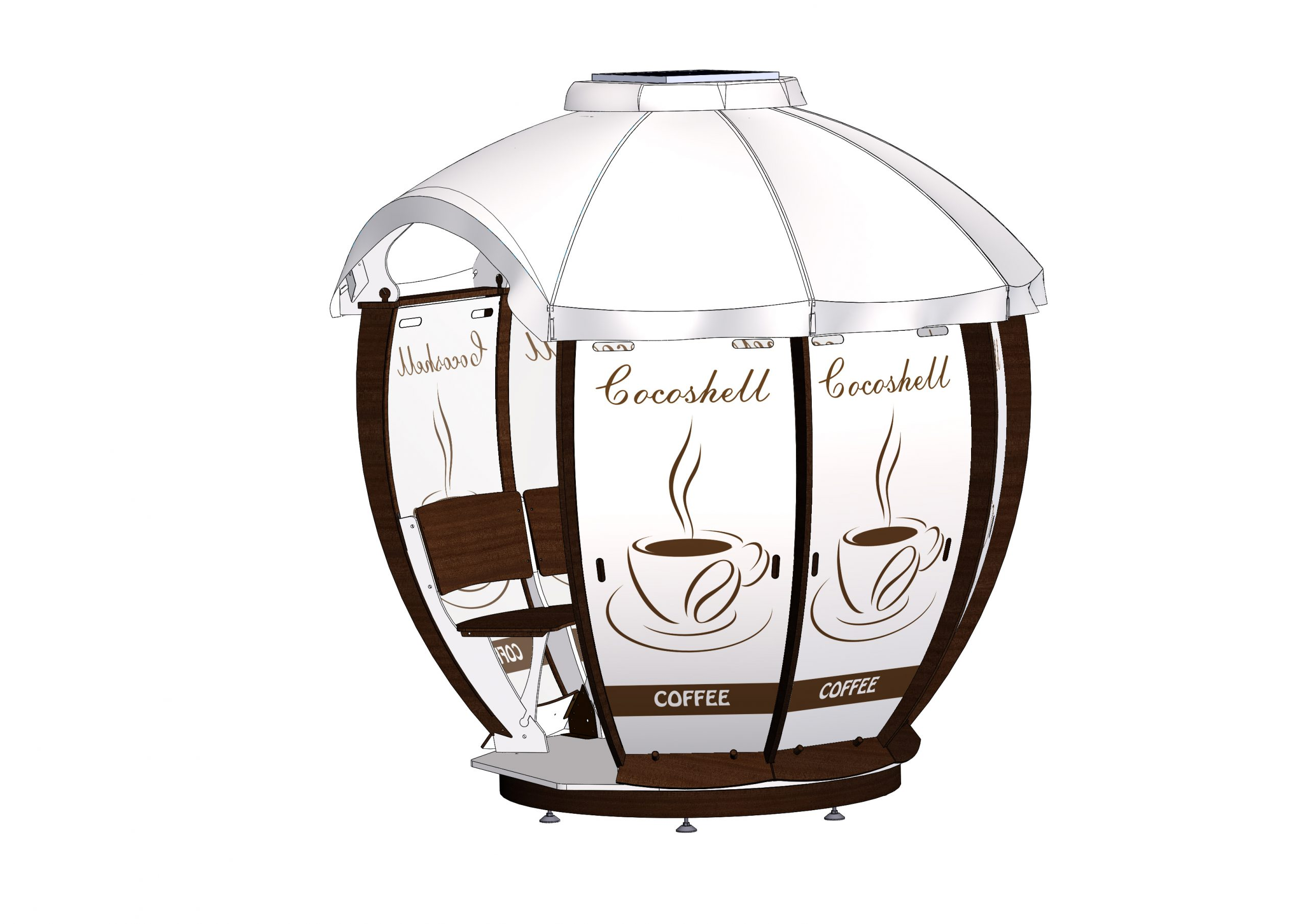 Altanka Cocoshell coffee
